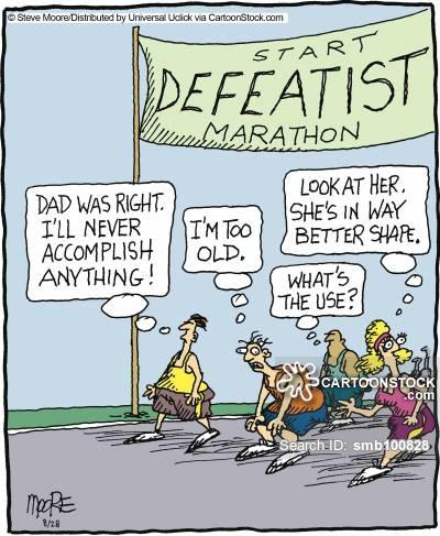 Defeatist Marathon.