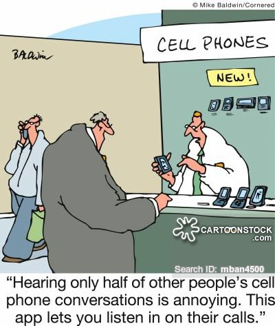 'Hearing only half of other people's cell phone conversations is annoying. This app lets you listen in on their calls.'